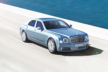 Bentley Mulsanne Front Left Side Image
