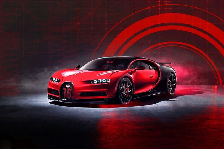 Bugatti Chiron Front Left Side Image