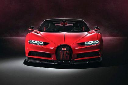 Bugatti Chiron Front View Image