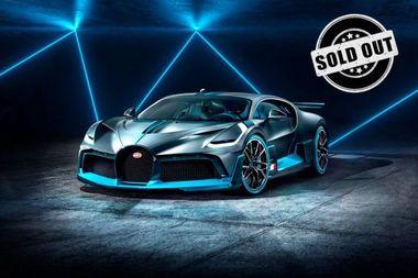 Bugatti Divo W16