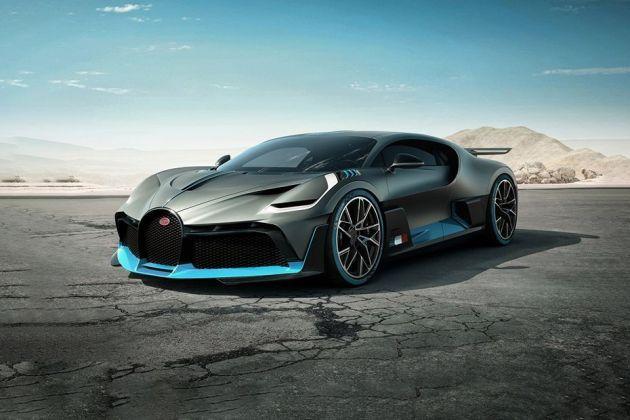 Bugatti Divo Front Left Side Image