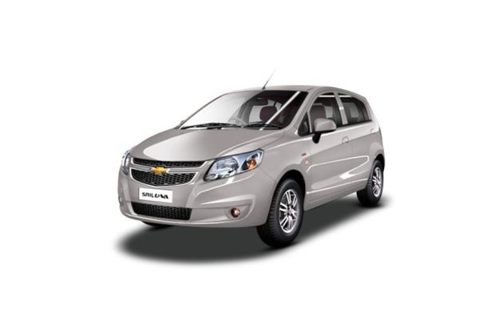 Chevrolet Sail Hatchback 2012-2013 Front Left Side Image