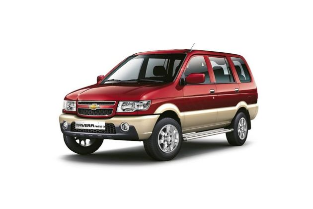 Chevrolet Tavera Specifications Features Configurations Dimensions