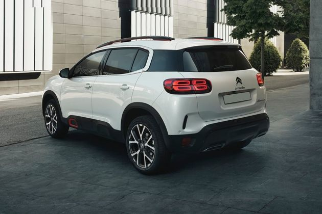 Citroen C5 Aircross Rear Left View Image
