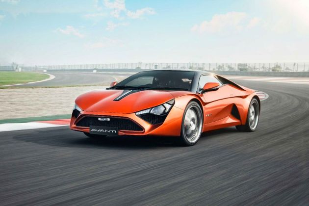 DC Avanti Front Left Side Image