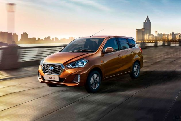 Datsun GO Plus Front Left Side Image