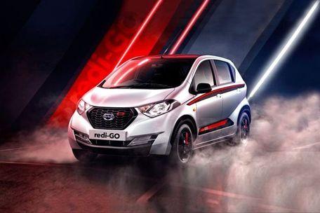 Datsun redi-GO Front Left Side Image
