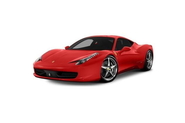 फेरारी 458 italia front left side image