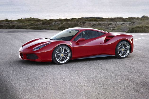 Ferrari 488 Side View (Left)  Image