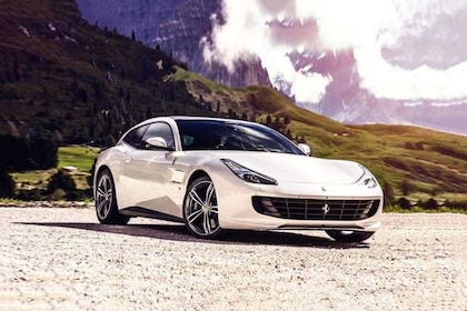 ಫೆರಾರಿ gtc4lusso front left side image