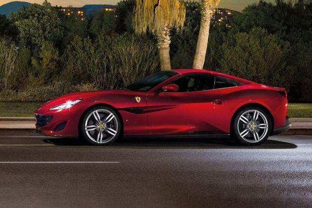 Ferrari Portofino Side View (Left)  Image