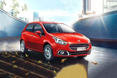 Fiat Punto EVO Front Left Side Image