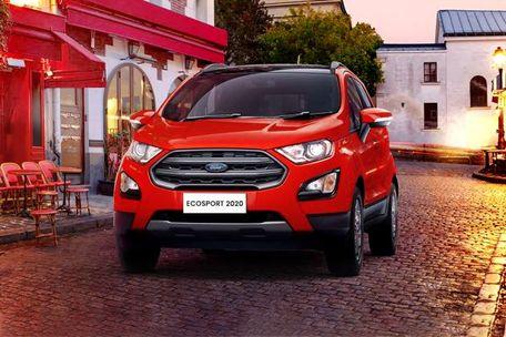 Ford EcoSport 2020 Front Left Side Image