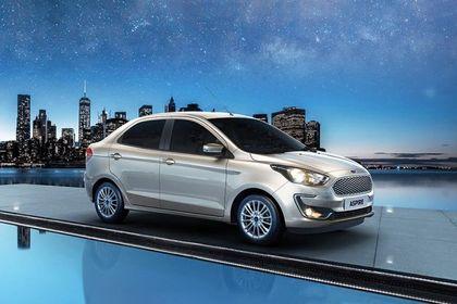 Ford Aspire Front Left Side Image