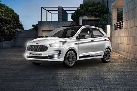 Ford Figo Cross Front Left Side Image
