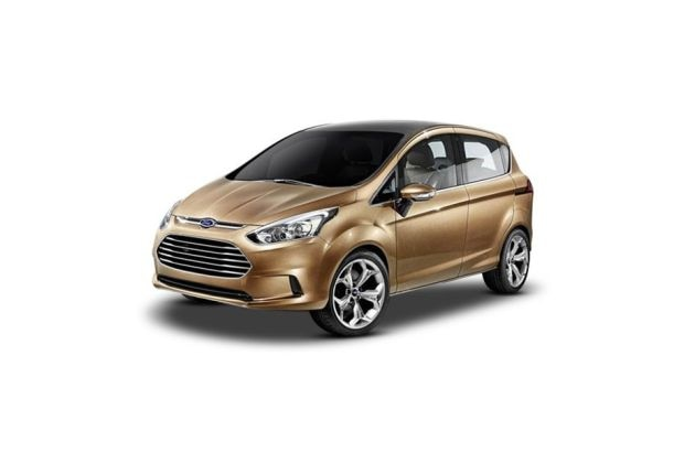 Ford B Max Front Left Side Image