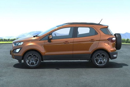 Ford Ecosport 2015-2021 Side View (Left)  Image