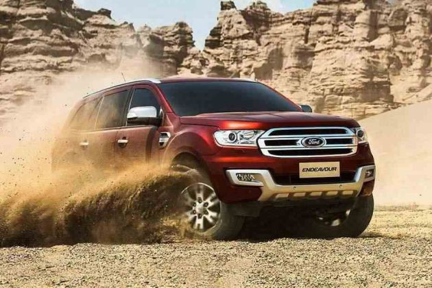 Ford Endeavour Price Images Review Mileage Specs