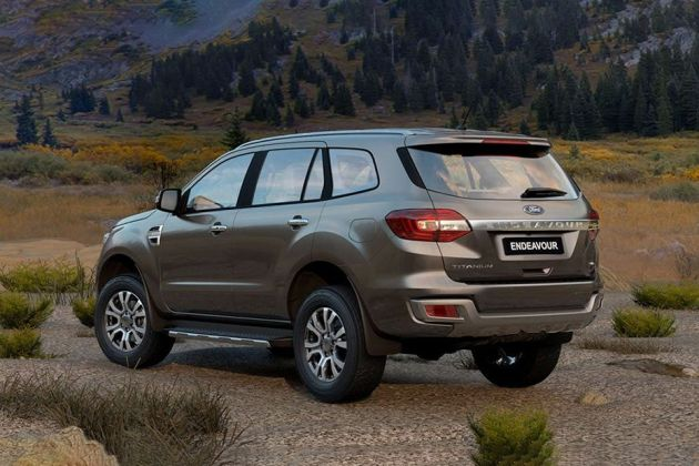 Ford Endeavour Price, Images, Review & Specs