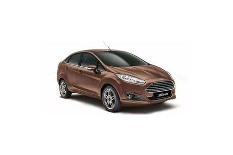 Ford Fiesta Front Left Side Image