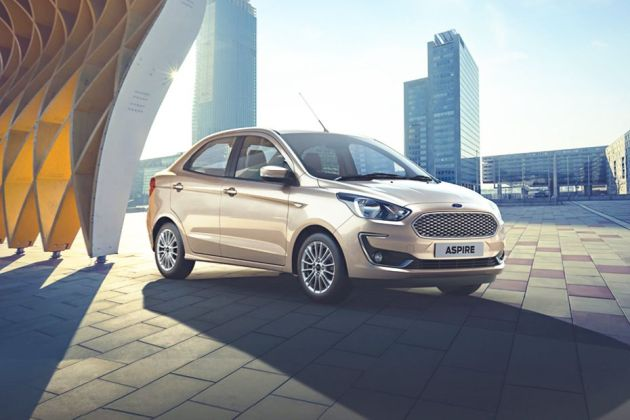 Ford Figo Aspire Front Left Side Image