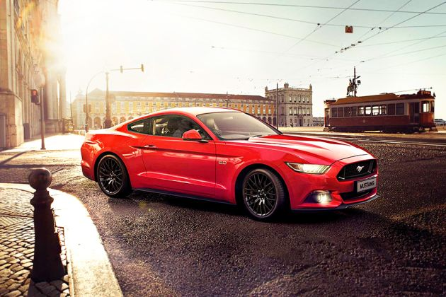 Ford Mustang Front Left Side Image