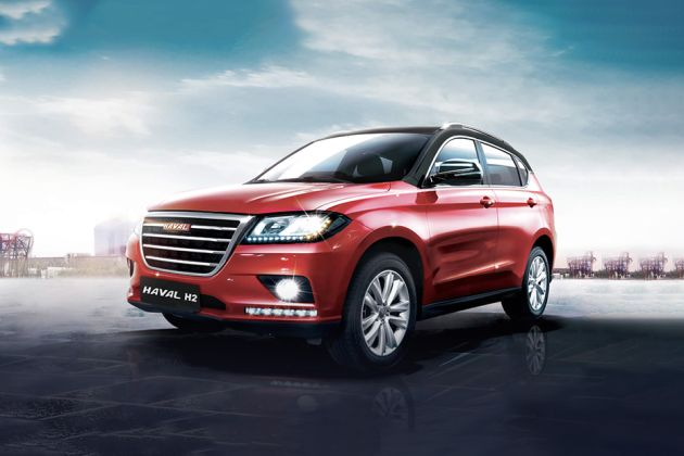 Haval H2 Front Left Side Image