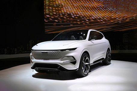 ഹവൽ vision 2025 front left side image