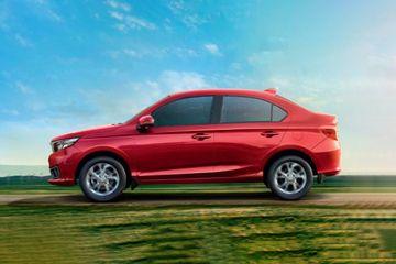 Honda Amaze Side View (Left)  Image