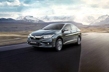 Honda City Front Left Side Image