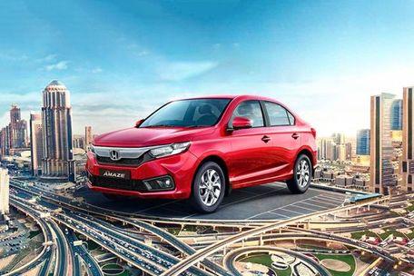 Honda Amaze Front Left Side Image
