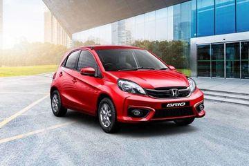 Honda Brio Front Left Side Image