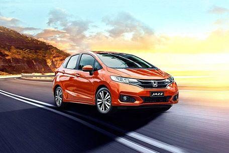 Honda Jazz 2020 Front Left Side Image