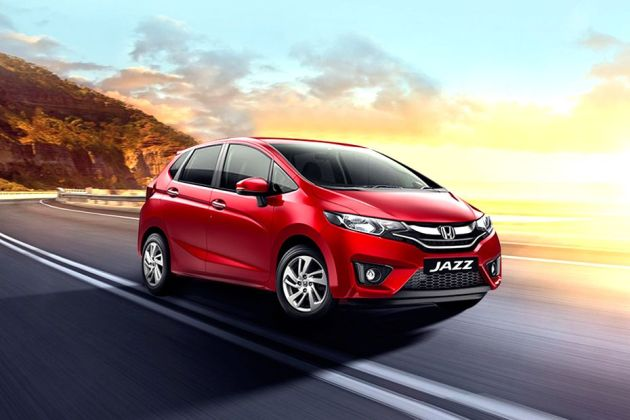 Honda Jazz Front Left Side Image