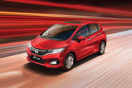Honda Jazz Front Left Side Image