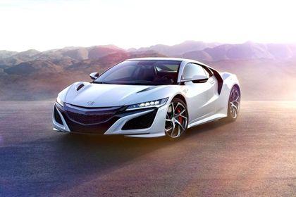 Honda NSX Front Left Side Image