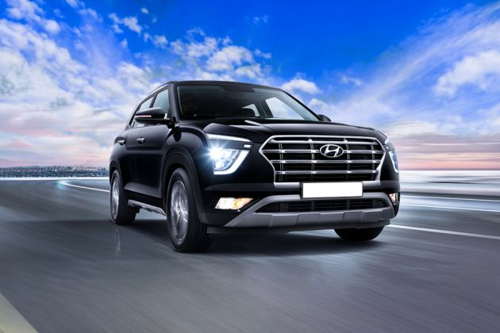Hyundai Creta Front Left Side Image