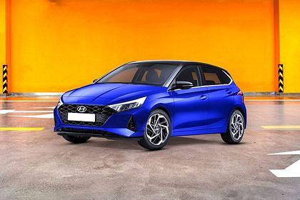 Hyundai Elite i20 2020 Front Left Side Image