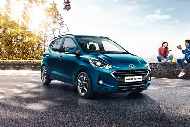 Hyundai Grand i10 Nios Front Left Side Image