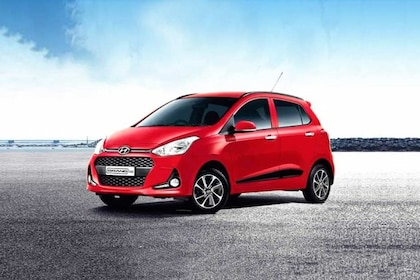 Hyundai Grand i10 Front Left Side Image