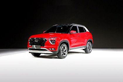 Hyundai Creta 2020 Front Left Side Image