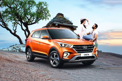 Hyundai Creta 2015-2020 Front Left Side Image