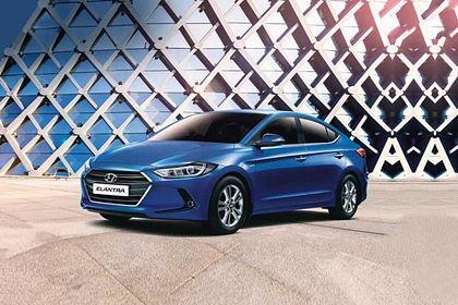 Hyundai Elantra 2015-2019 Front Left Side Image
