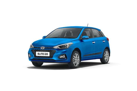 Hyundai Elite i20 2018 Front Left Side Image