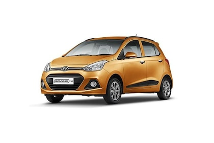 Hyundai Grand i10 2013-2016 Front Left Side Image