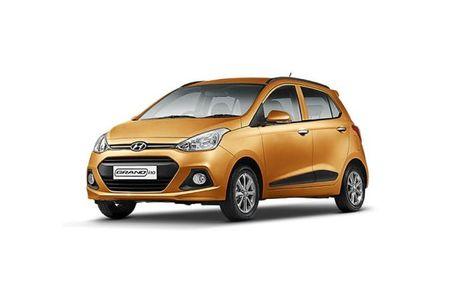 Hyundai Grand i10 2013-2016 Front Left Side Image