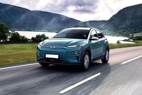 Hyundai Kona Electric Front Left Side Image