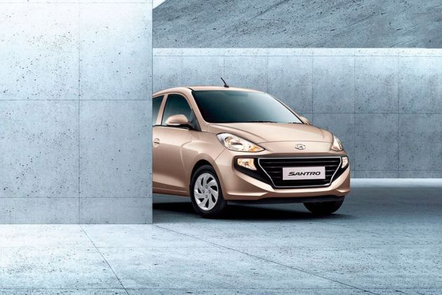 Hyundai Small Car Front Left Side Image