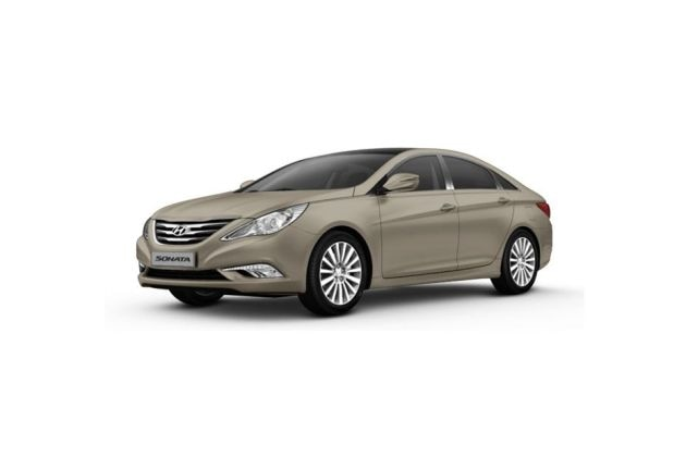 Hyundai Sonata Transform Front Left Side Image