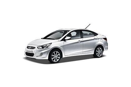 Hyundai Verna 2006-2009 Front Left Side Image